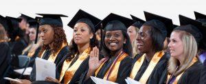University graduation attire